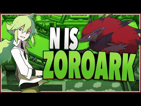 N Zoroark Theory Pokemon Black • Whit...