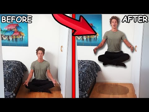 LEVITATE FOR 5 MINUTES TRICK! ( WTF It Actually Works )