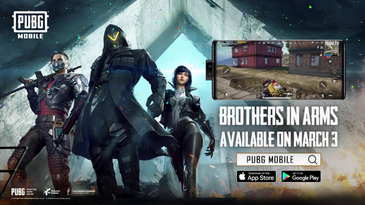 PUBG MOBILE - New Feature - Brothers in Arms