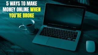 5 Ways to Make Money Online When You