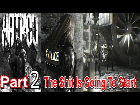 Hatred Part 2 The Shit Is Going To Start PC Game This Is Evil Be Worned