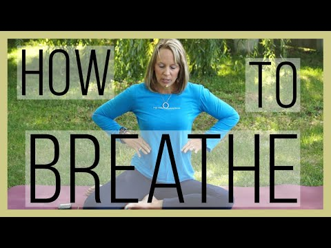 How to breath during Yoga with Dr. Melissa West