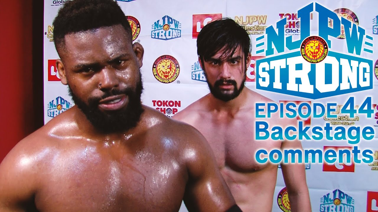 Fred Yehi and Wheeler Yuta make a statement! |STRONG backstage