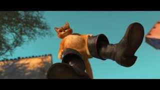 """Трейлер м/ф """"Кот в сапогах"""" в переводе Гоблина"""