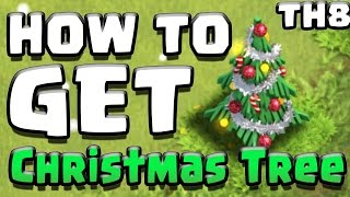 "Clash of Clans | ""TH8 CHRISTMAS TREE SPAWN BASE!"" 