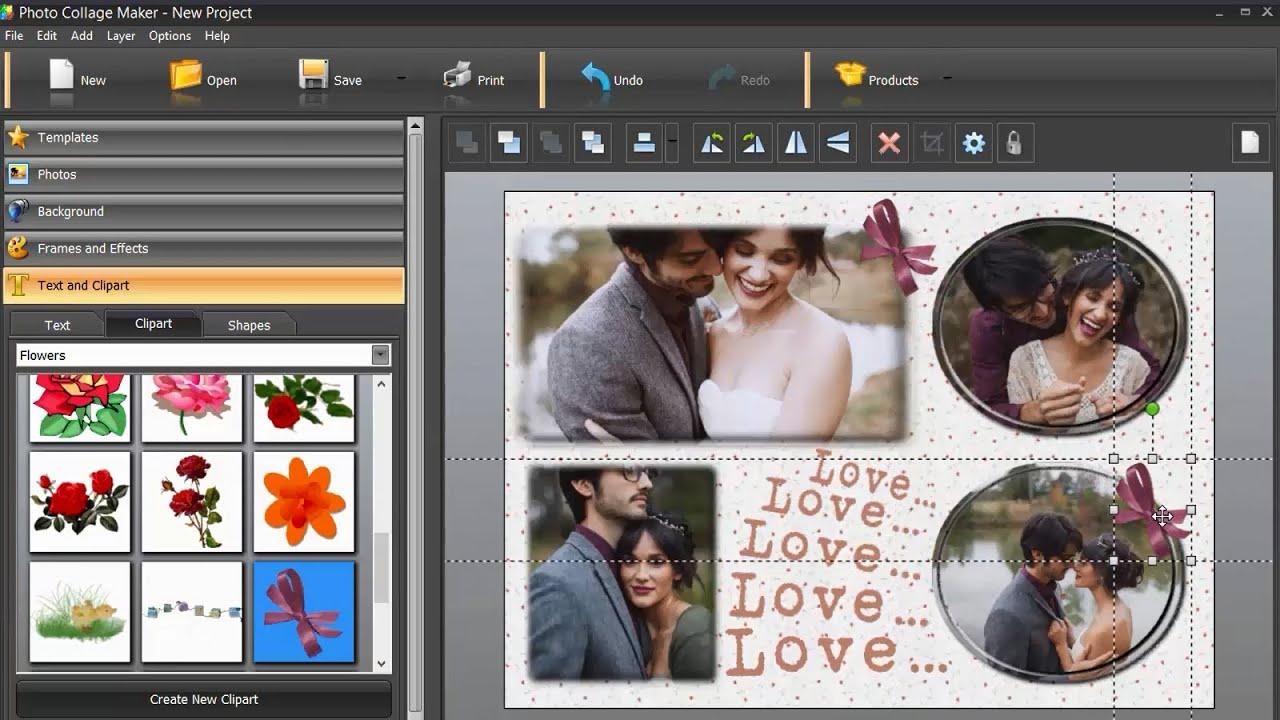 easy collage maker for