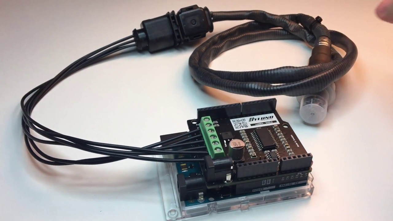 Lambda Shield for Arduino® - Getting Started