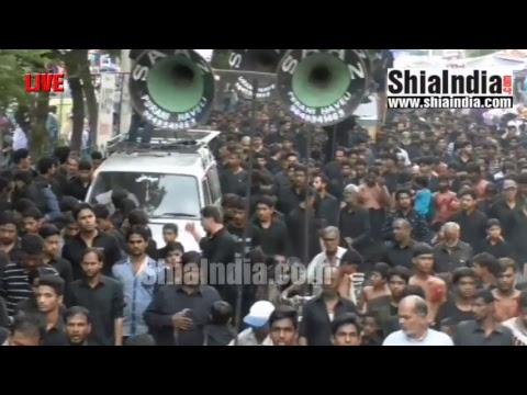 (P3) 20th Ramzan Qaumi Matami Juloos Live Footage 1438-2017
