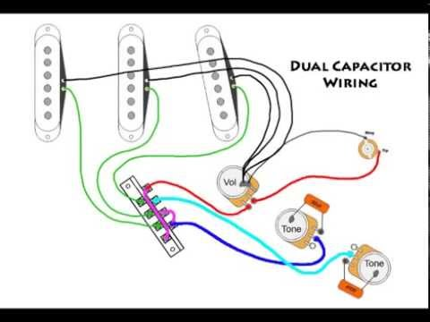DIY 7 Way Switch and Dual Tone Stratocaster Mod - YouTube