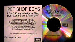 Pet Shop Boys,I Don