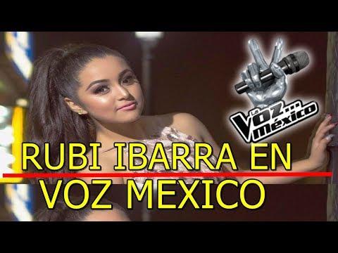 Rubí Ibarra HACE CASTING para La Voz México
