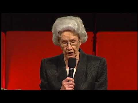 """God's Thirsting Love For All Humanity"" Vesta Mangun BOTT 2008"