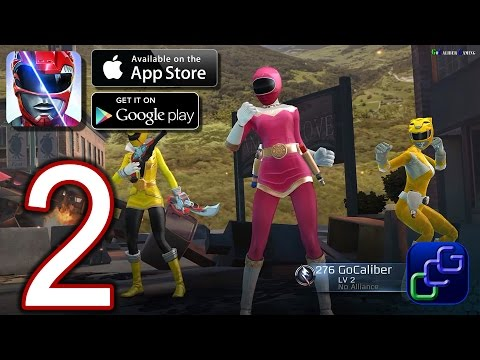 Power Rangers Legacy Wars Android iOS Walkthrough - Part 2 - Angel Grove League 1