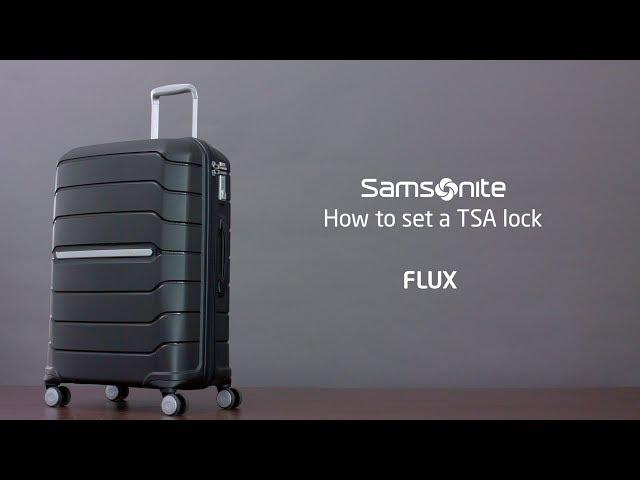 Unlock and change Samsonite Luggage Missing Password code