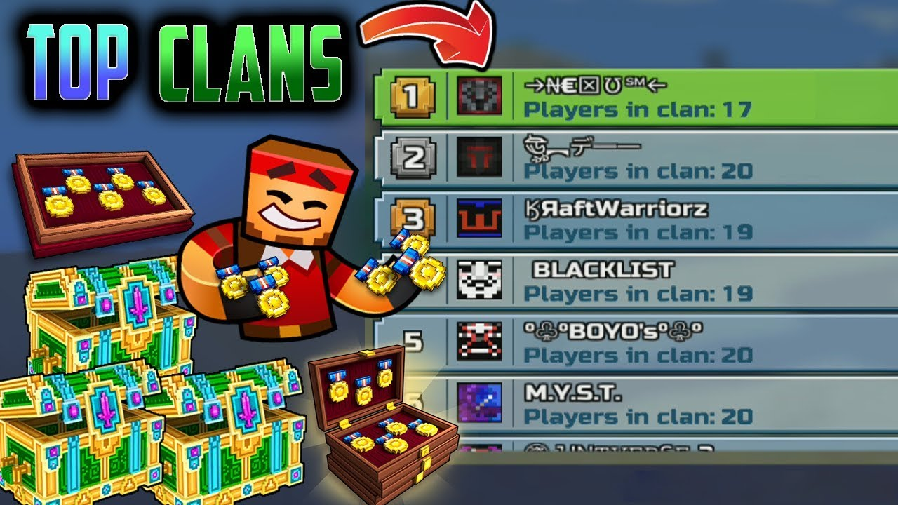 I Gave The Top PG3D Clans 100,000 FREE Clan Medals - Pixel ...Copy And Paste Symbols For Pixel Gun 3d