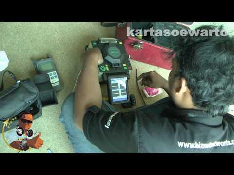 DVP-730 Fiber Optic Fusion Splicer - Jakarta 2014