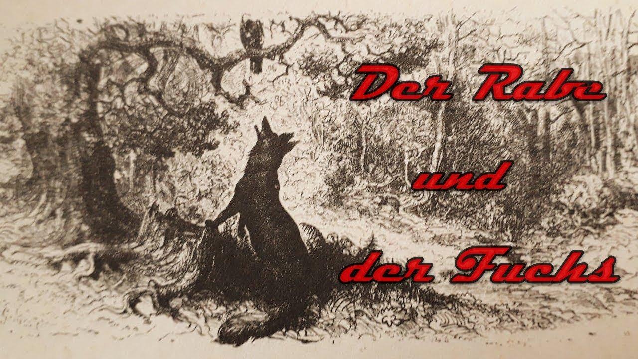 Der Rabe und der Fuchs - Fabel von La Fontaine - YouTube