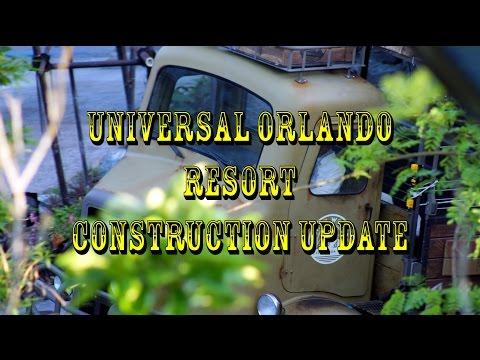 Universal Orlando Resort Construction Update 4.19.16 Kong Animatronic Testing, Hulk, Fallon + More