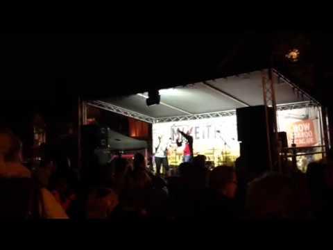 Touch FM Mark O'Sullivan at Swad xmas Lights 28.11.14
