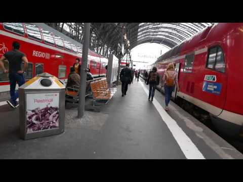 Frankfurt Hauptbahnhof Scenes 24 and 25 May 2017