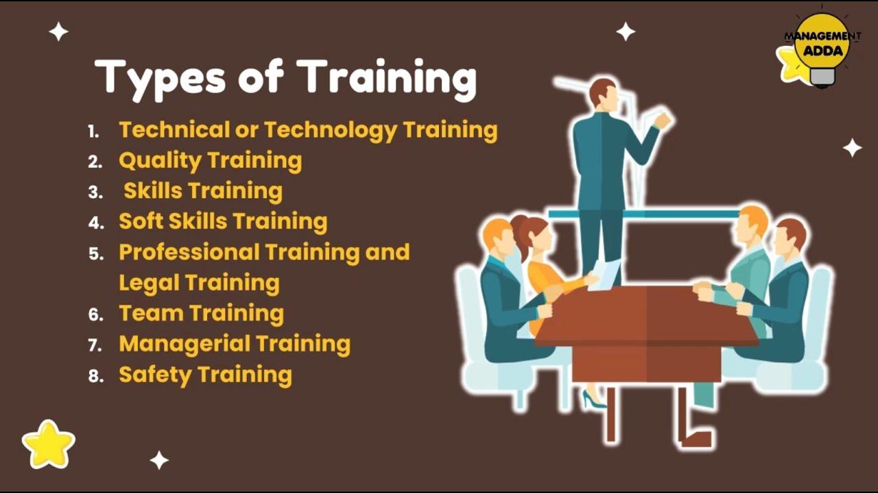 Types of Training - YouTube