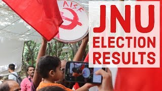 JNU Elections: United-Left Alliance makes a clean sweep