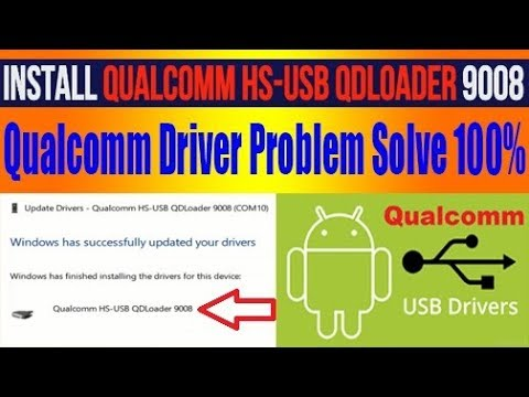 Install Qualcomm Complete Driver For Windows 7 8 10 64 bit & 32 bit