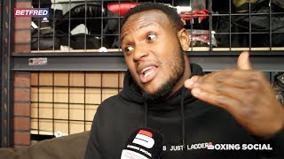 VIDDAL RILEY IN LAS VEGAS ON KSI CAMP, SIGNING WITH MAYWEATHER, GLOVE CHOICE & SHANNON BRIGGS