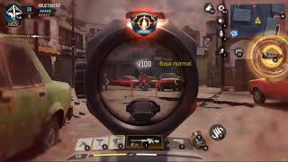 Game play Call Of Duty Movil PC Sniper Wolf
