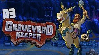 Graveyard Keeper #03 | ŻELAZO i PIEC