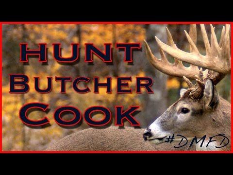 Deer Hunt Clean Cook