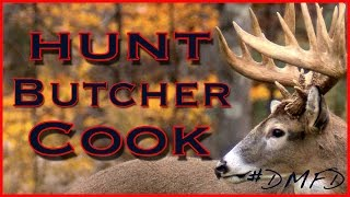 deer hunt clean cook