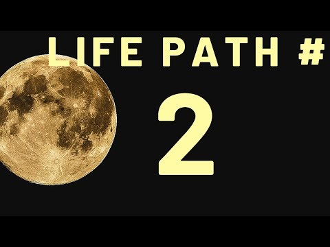 Life Path # 2 #spiritual #numerology2