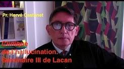 Hervé CASTANET. 'Hallucination et structure du langage chez J. Lacan. Le Séminaire III.'