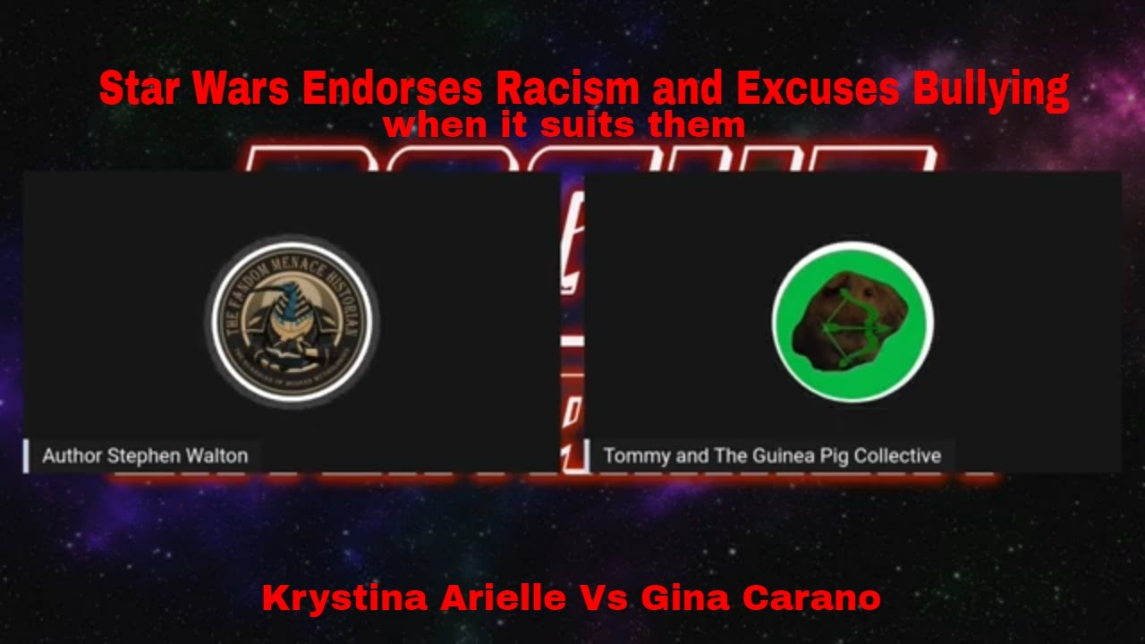 Disney Star Wars Supports Krystina Arielle; Not Gina Carano