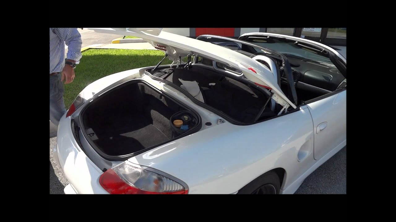 Porsche 986 Boxster Spyder Conversion Convertible Top