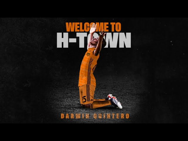 Welcome to H-Town, Darwin Quintero | Career Highlights
