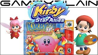 Kirby Star Allies - Kirby 64 Stages to Feature in Adeleine & Ribbon's Guest Star Mode