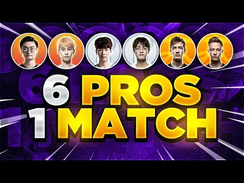 Yassuo | 6 PROS IN ONE MATCH?!? THE MOST STACKED SOLO QUEUE GAME EVER!
