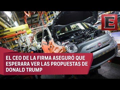 Fiat Chrysler saldría de México si Trump establece aranceles muy altos