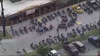 Biker Gang Brawl in Waco, Texas Parking Lot