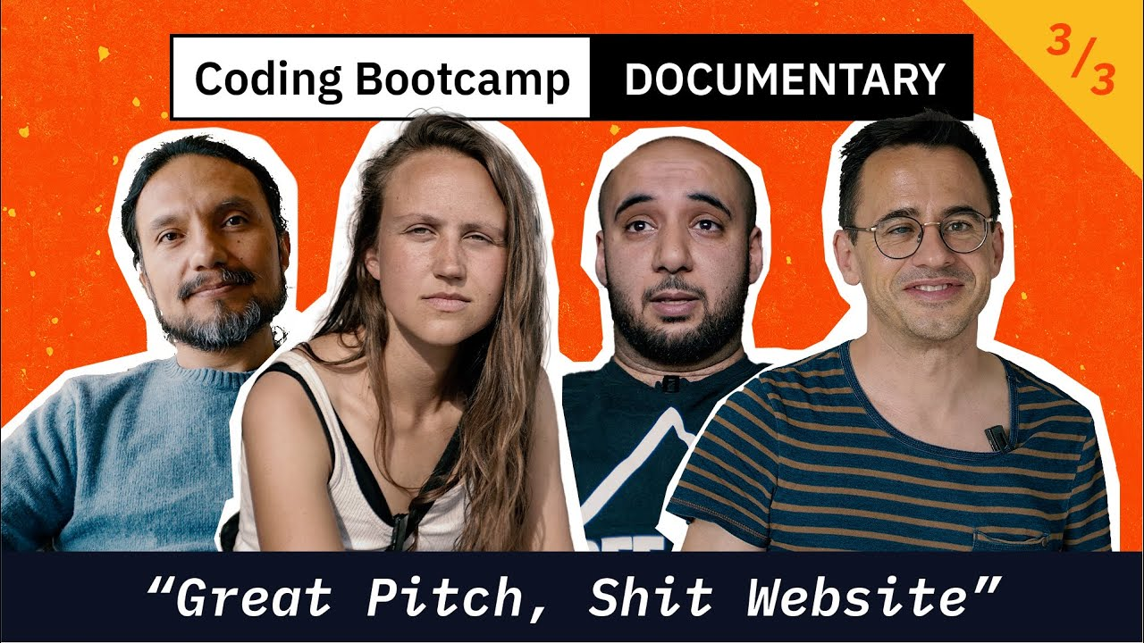 Coding Bootcamp Documentary (3/3): 'Great Pitch, Shit Website'