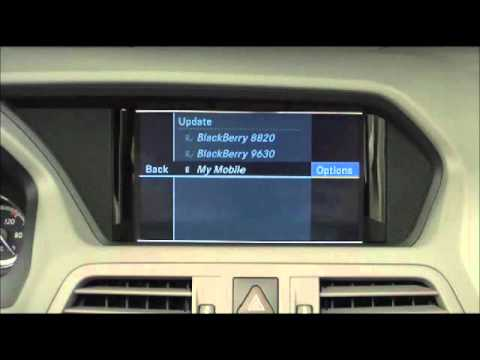 Mercedes benz instructional video bluetooth phone pairing for How to connect phone to mercedes benz