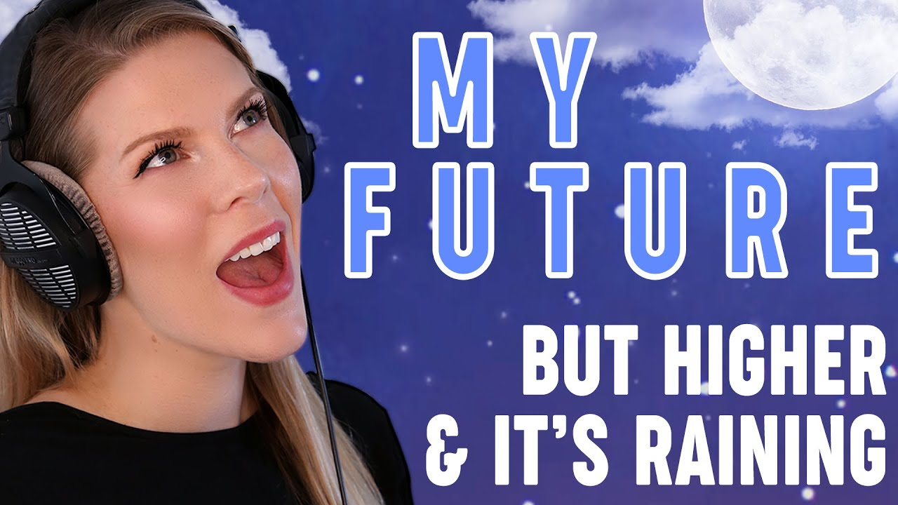 My Future (but higher and it's raining) - Billie Eilish (Cover by Eline Vera)