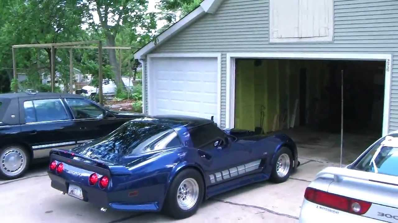 Pictures Of Corvettes >> Custom 1980 Corvette - YouTube