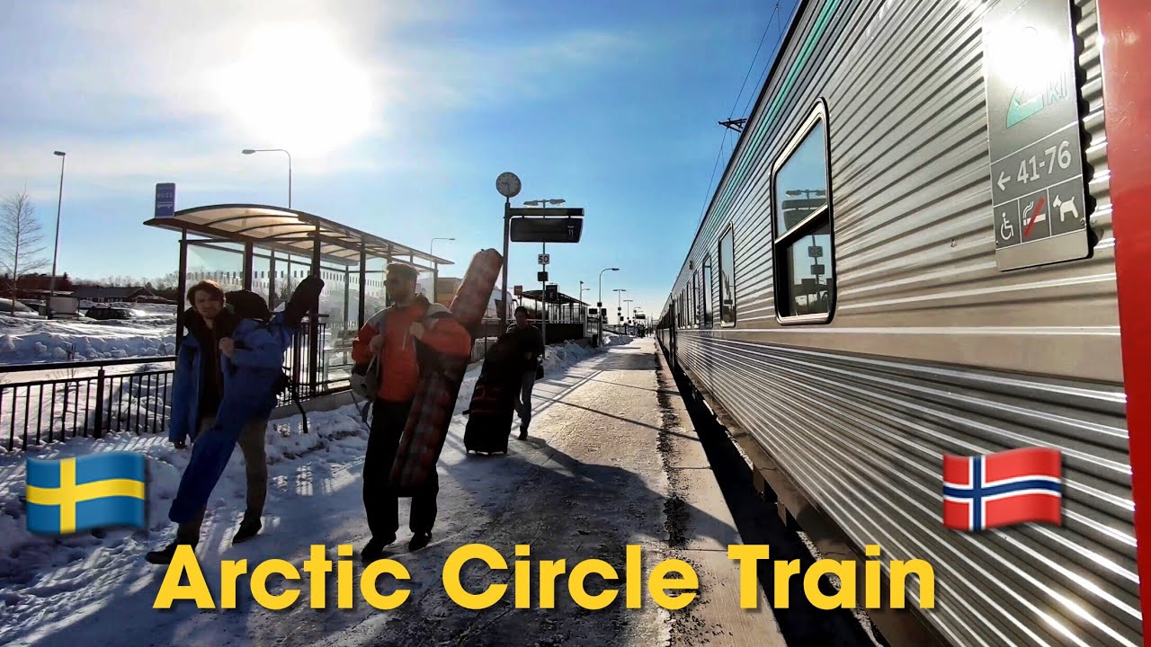 My INCREDIBLE trip on the Arctic Circle Sleeper Train (2019)
