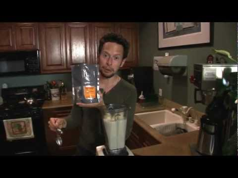 Banana Protein Superfood Shake: Vegan Raw Food Recipe