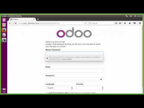 How To install Odoo 10 with Apache As A Reverse Proxy on Ubuntu 16.04