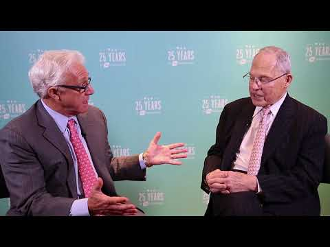 BIO at 25-Jim Greenwood and Frederick Frank Discuss Early Biotech investment