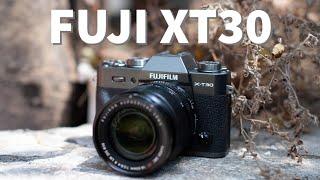 Trên tay nhanh Fujifilm X-T30